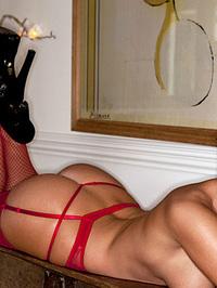 Dionne Daniels Ravishing In Red 16