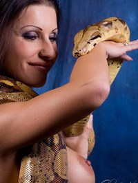 Nikki Rider With Snake 14