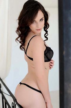 Brunette Hottie Strips
