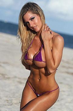 Brenna McKenna In Micro Bikini
