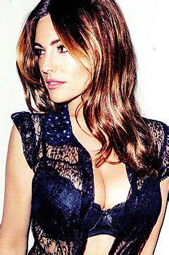 Busty Brit TV Star Kelly