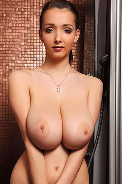 Lucie Wilde Jaw Dropping Breasts
