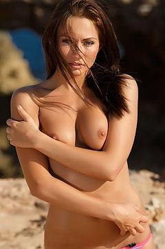Kathina Getting Out Of Her Bikini