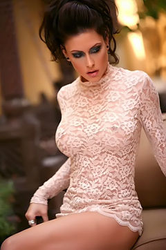 Jessica Jaymes See Through Dress