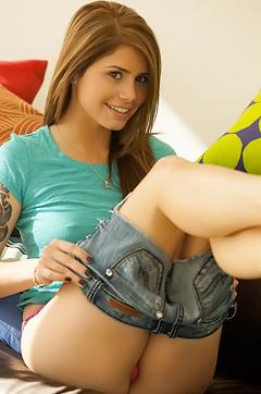 Hailey Leigh Pierced Nipples