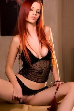 Gabrielle Lupin Tight Redhead Babe