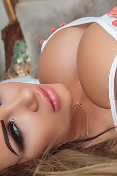 Daniella Levy Pinup Debut