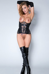 Britney Amber In Sexy Outfit