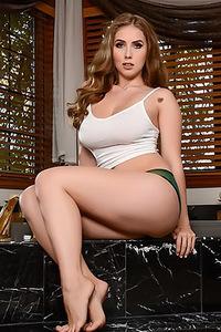 Lena Paul Washes Her Big Natural Tits