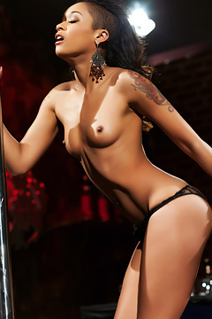 Skin Diamond Pole Strip Dance