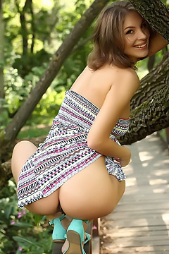Galina Spreading Outdoors